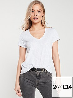 v-by-very-the-essential-v-neck-t-shirt-grey