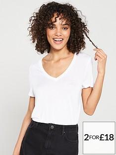 v-by-very-the-essential-v-neck-top-white