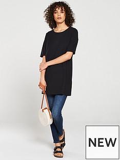 v-by-very-the-essential-three-quarter-sleeve-longline-top-black
