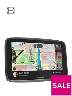 tomtom-go-professional-6200-hgvnbspsat-navnbspwith-wi-fi-sirigoogle-now-integration-sim-card-europe-map