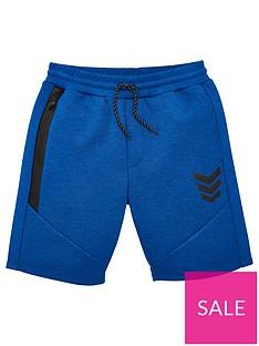 v-by-very-boys-tech-contrast-zip-jog-shorts-blue