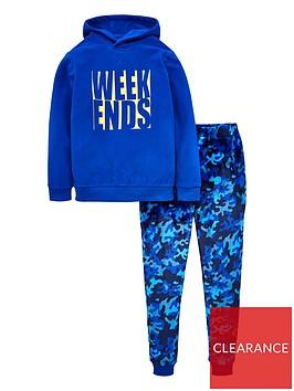 v-by-very-boys-weekends-camo-pj-set-blue