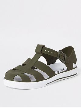 river-island-boys-jelly-sandals-khaki