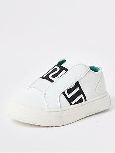 river-island-mini-mini-boys-ri-elastic-trainers-white