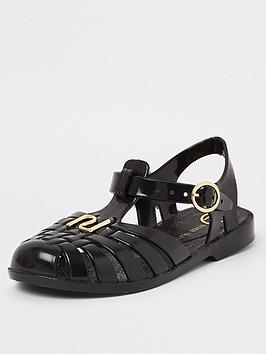 river-island-girls-black-caged-jelly-sandals