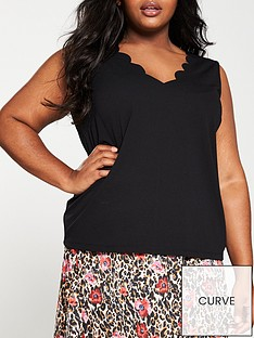 v-by-very-curve-scalloped-edge-caminbsp--black