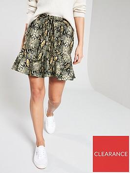 v-by-very-belted-rufflednbsphem-printed-skirt-snake