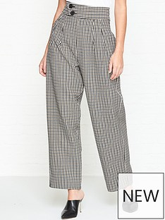 outline-rossmore-high-waist-check-trousersnbsp--multi