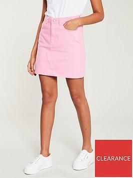 v-by-very-denim-skirt-pink