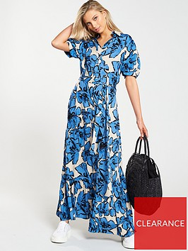 v-by-very-floral-puff-sleeve-midi-dress