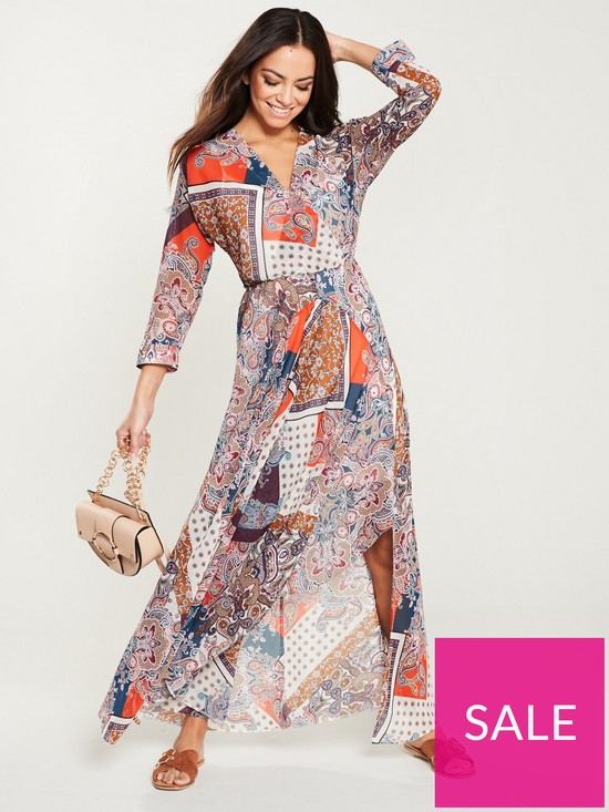 520086400 V by Very Maxi Dress - Paisley Print | very.co.uk