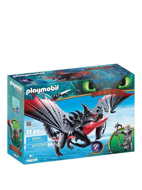 8293d16d Playmobil Dreamworks Dragons Deathgripper with Grimmel by Playmobil ...