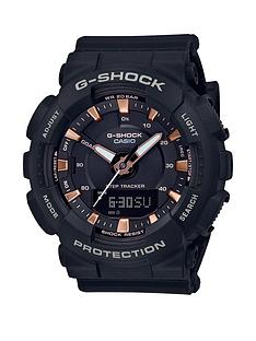 casio-casio-g-shock-blue-and-rose-gold-detail-chronograph-dial-grey-silicone-strap-ladies-watch