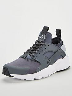 best sneakers 3f009 d7a92 Nike Air Huarache Run Ultra - Grey White