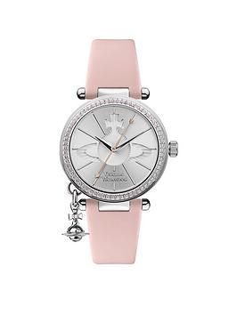 vivienne-westwood-vivienne-westwood-orb-pastelle-silver-crystal-set-dial-with-orb-charm-pink-leather-strap-ladies-watch