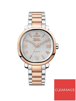 vivienne-westwood-vivienne-westwood-mayfair-brushed-silver-and-rose-gold-cushion-dial-two-tone-stainless-steel-bracelet-ladies-watch