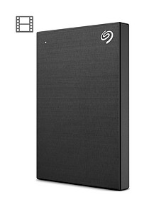 Seagate Seagate 1TB Backup Plus Slim portable (Black)