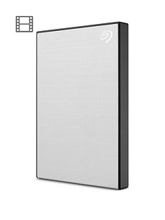 Seagate Seagate 1TB Backup Plus Slim portable (Silver)