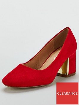 v-by-very-darwin-wide-fit-mid-heel-court-shoes-red