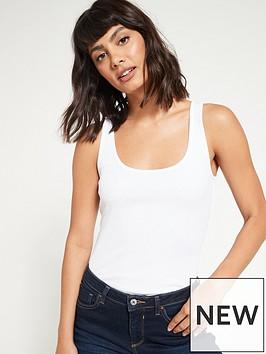 v-by-very-valuenbspthe-essential-rib-vest-top-white