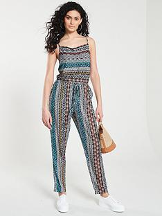 f1be2d6363 V by Very Drawcord Jumpsuit