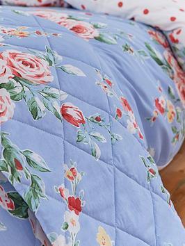 catherine-lansfield-canterbury-bedspread-throw-blue