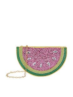 monsoon-lemon-and-melon-glitter-bag