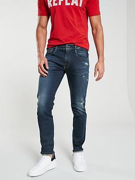 Anbass Hyperflex Jeans  Dark Blue