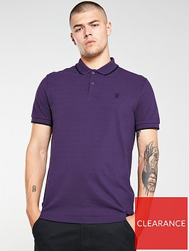 v-by-very-tipped-pique-polo-shirt-purple