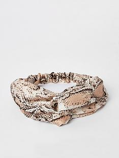 river-island-river-island-animal-print-headband-beige