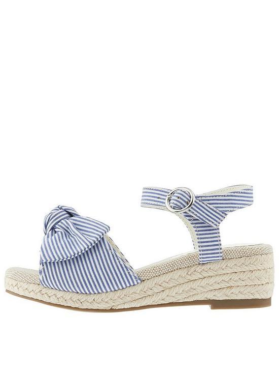 0d64f575150 Striped Espadrille Wedge Sandal