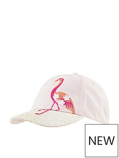 monsoon-girl-flamingo-glitter-brim-cap