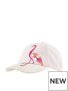 monsoon-monsoon-girl-flamingo-glitter-brim-cap