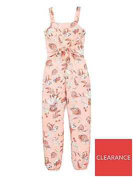 v-by-very-girls-floral-print-twist-front-jumpsuit-pink