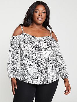 v-by-very-curve-cold-shoulder-blouse-animal-print