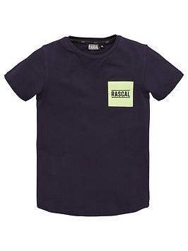 rascal-real-short-sleeve-t-shirt-navyneon