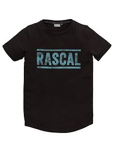 rascal-azul-short-sleeve-t-shirt-black