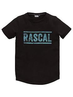 rascal-azul-short-sleeve-t-shirt-black