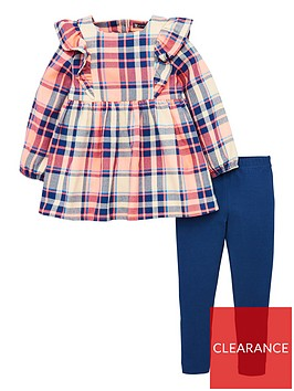 v-by-very-girls-2-piece-check-ruffle-tunic-amp-legging-outfit-multi