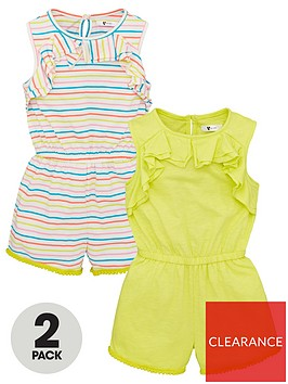 v-by-very-girls-2-pack-printed-playsuits-multi