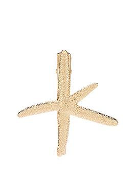 michelle-keegan-starfish-hair-clip-gold