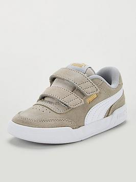 puma-caracal-sd-v-infant-trainers-greywhitegold