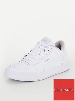 puma-caracal-junior-trainers-whitesilver
