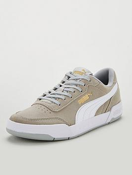 puma-caracal-sd-junior-trainers-greywhitegold