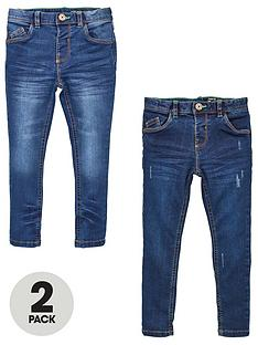 v-by-very-boys-2-pack-supersoft-skinny-jeans-blue