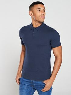 v-by-very-collar-detail-jersey-polo-shirt-navy