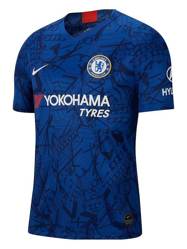 Chelsea 19 20 Home Short Sleeved Stadium Jersey Blue