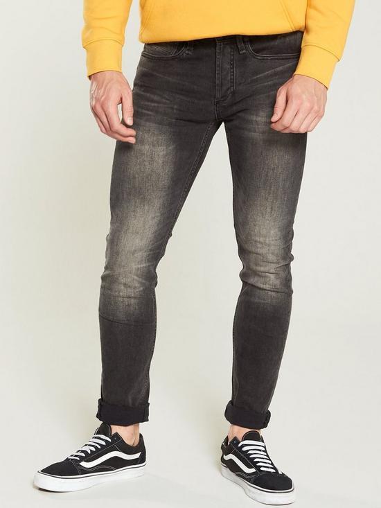 80331383 Denham Denham Bolt Jean - Black | very.co.uk