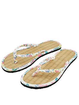 accessorize-amalfi-print-beaded-seagrassnbspflip-flops--nbsp