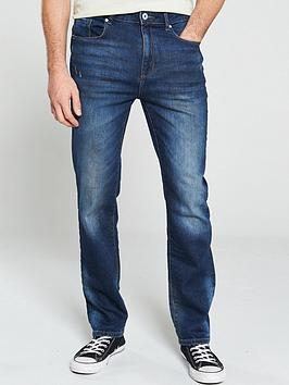 v-by-very-straight-fit-jeans-dark-vintage-wash